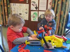 Playdough& Tools